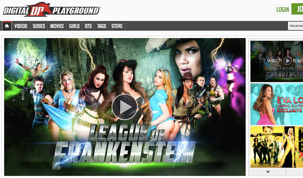 Most visited pay porn site to watch horny pornstars