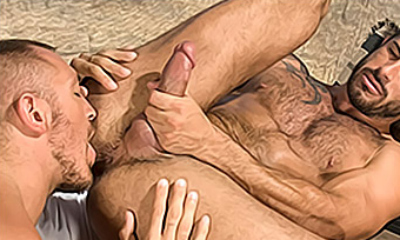 Top gay porn site for sexy men in wild action.