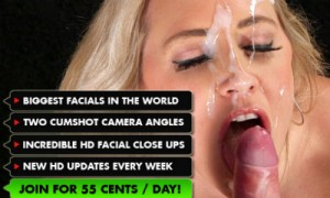 Good porn site for facial cumshot videos.