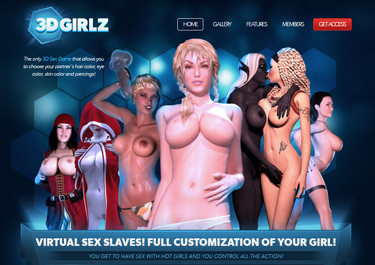 Great 3d porn site with exclusive content