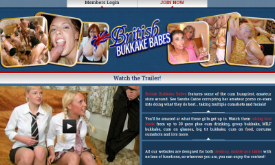 Cheap pay porn site where you can watch bukkake videos.