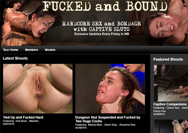Popular BDSM adult site for bondage videos