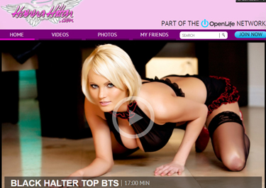 Good blondes porn site for Hanna Hilton fans