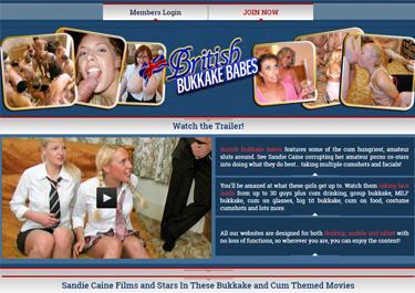 Amazing bukkake adult site for sexy Brit chicks