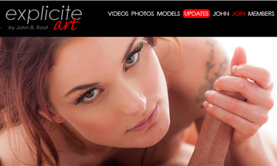 Popular paid xxx site among the fans of erotic French porn pics