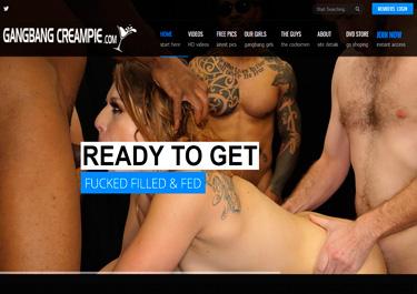 Nice premium sex site featuring bukkake porn movies