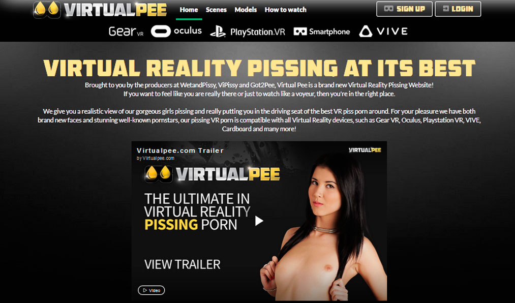 Best paid sex website for the lovers of pissing porn flicks
