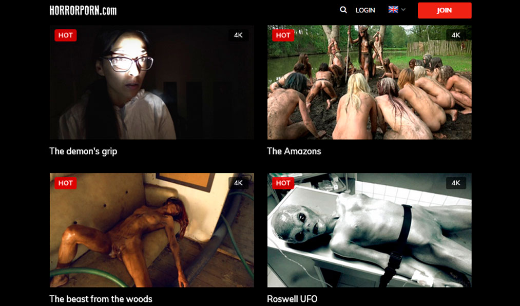 Best paid xxx website providing the new horror porn flicks